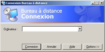 Bureau distance sous Windows 2000