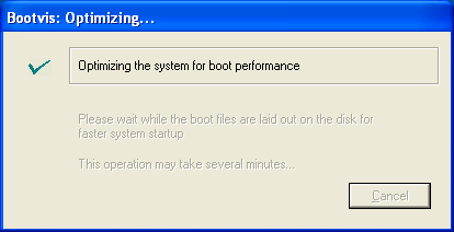 BootVis Optimising