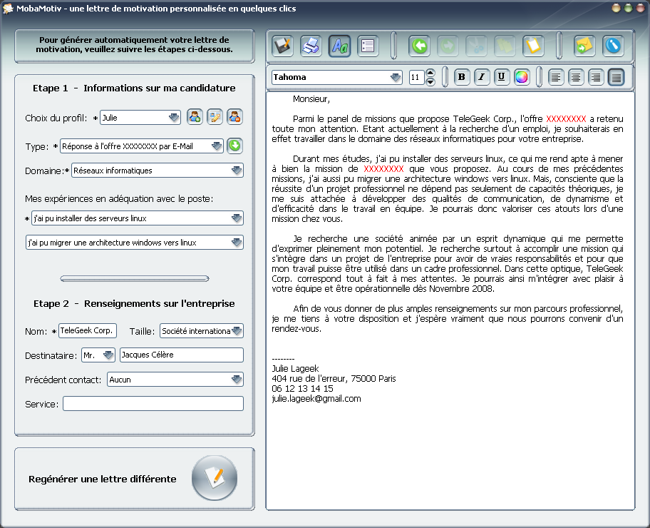 exemple lettre de motivation  u2013 blogmotion