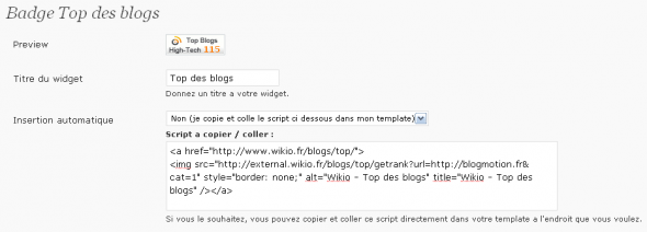 wikio-plugin-options-badge-topdesblogs