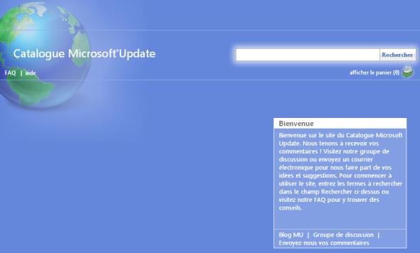 catalogue-microsoft-update-recherche