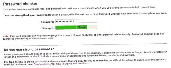 password-checker