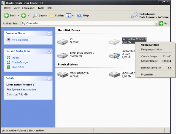 diskinternals-linux-reader