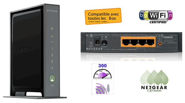test netgear wn2000rpt le r p teur wifi universel. Black Bedroom Furniture Sets. Home Design Ideas