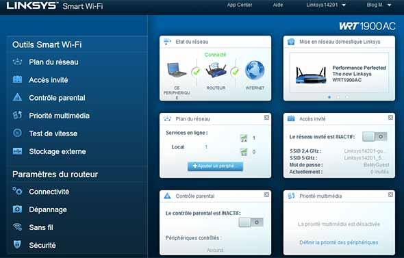 wrt1900ac-interface-home