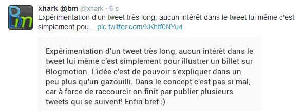 long-tweet