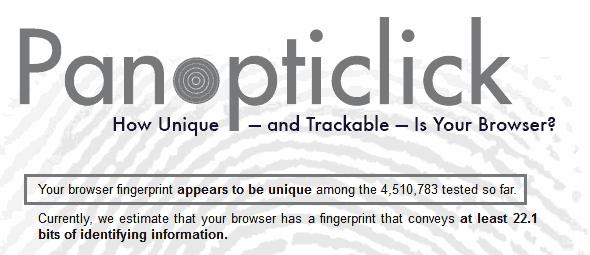 panopticlick-result
