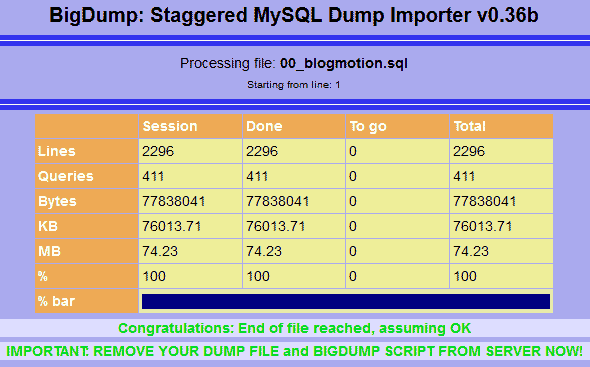 bigdump-import