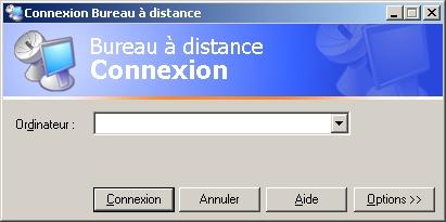 Connexion au bureau à distance
