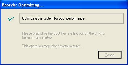BootVis Optimising