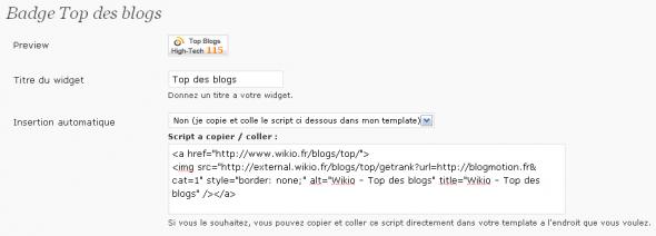 wikio-plugin-options-badge-topdesblogs