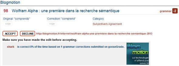goosegrade-information-correction
