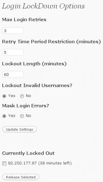 login-lockdown-seetings