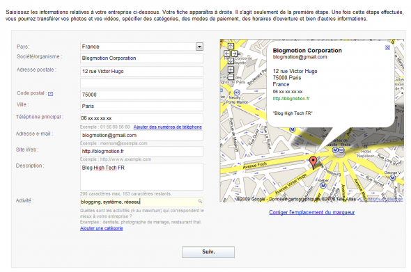 google-maps-entreprise