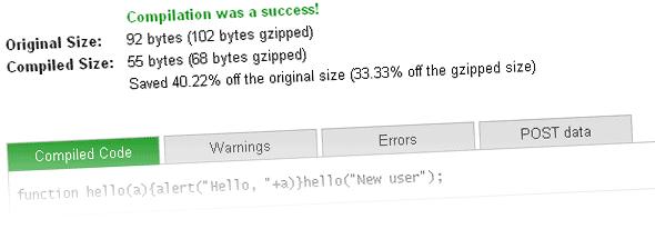 compression-javascript