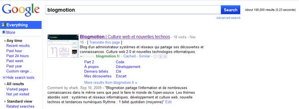 google-nouvelle-version-search