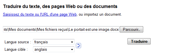 google-traduction-import-document