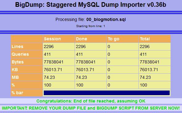 bigdump-import