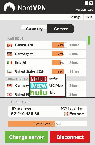 nordvpn-interface-list