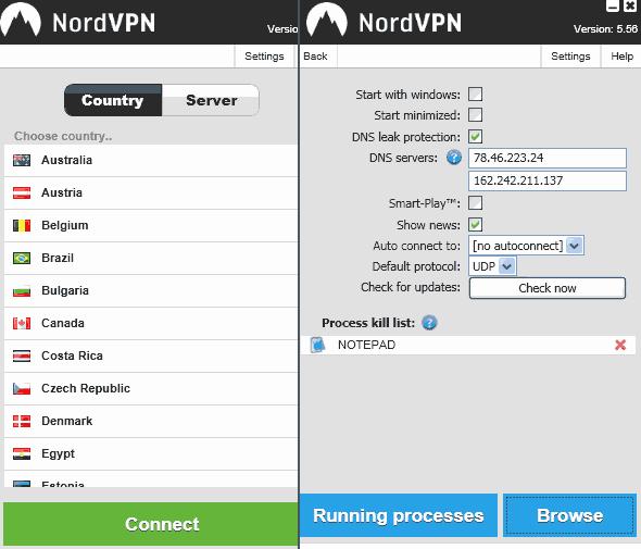 nordvpn-interface